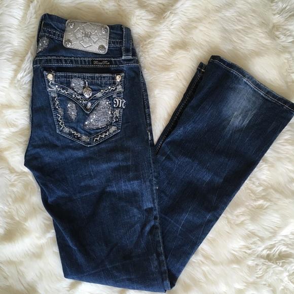 Miss Me Denim - Miss Me Signature Boot Jeans